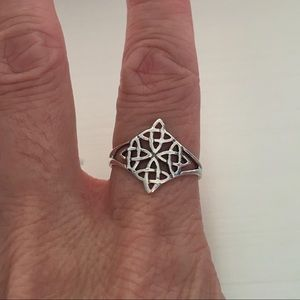 Jewelry - Sterling Silver Celtic Quadruple Knot Ring