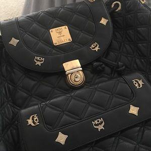 MCM Handbags - Additional Pics for Auth MCM  backpack
