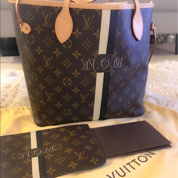 245eb14a36 LOUIS VUITTON Neverfull MM Mon Monogram