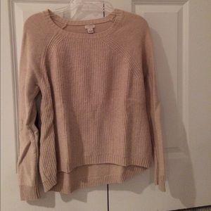 J. Crew Elbow Patch Knit Sweater