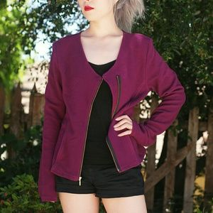 Astars Jackets & Blazers - Astars Illusionist Moto Jacket