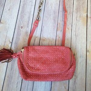 Elliott Lucca Handbags - ELLIOTT LUCCA woven leather hip pack