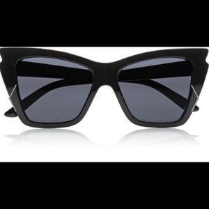 le specs Accessories - Le Specs rapture cat eye acetate sunglasses