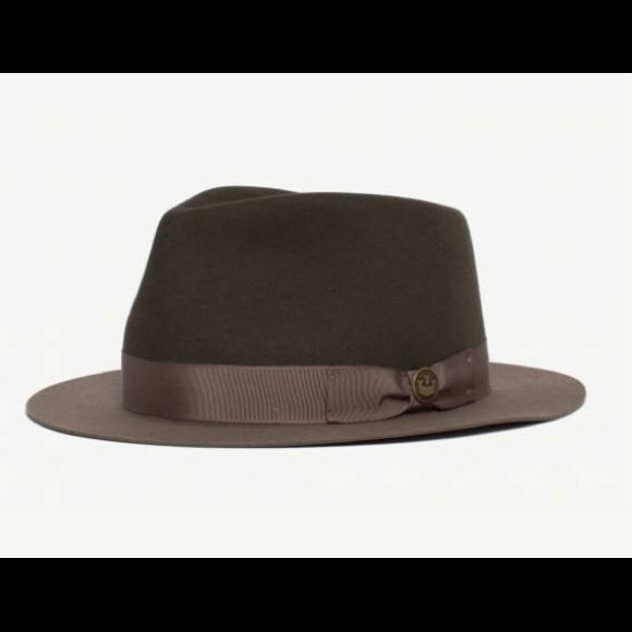 6147ad69577 GOORIN BROS - 100% wool hat