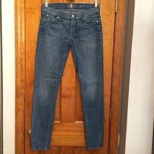 7 For All Mankind Denim - 7 For All Mankind The Skinny Jean LIKE NEW