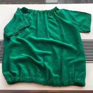 Barneys New York CO-OP Tops - Barney's NEw York SILK Blouse MADE IN USA EUC