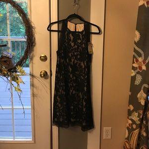 Chelsea & Violet Dresses & Skirts - NWT, Chelsea & Violet Black Lacey Dress