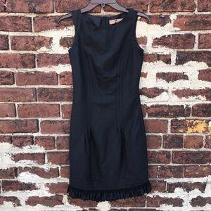 John Galliano Dresses & Skirts - John Galliano 4 Wool Silk Ruffled Sheath Dress