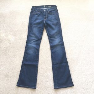 7 For All Mankind midrise Bootcut - 27 X 33.5