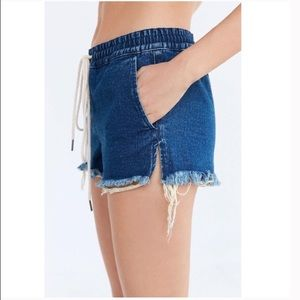 Urban Outfitters Shorts - BDG | Drawstring med wash jean shorts | small