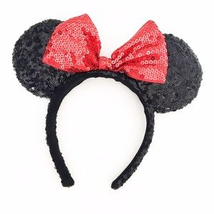 Accessories - Sequin Minnie Mouse Ears