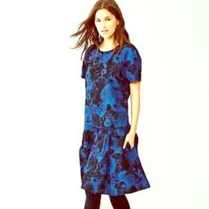 GAP Dresses & Skirts - Gap Midi Floral Drop Waist Cotton Dress