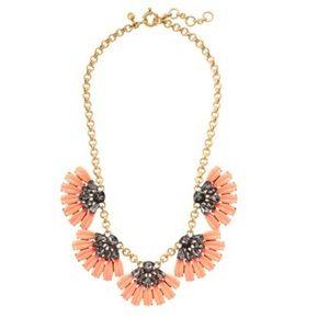 J. Crew Jewelry - J.Crew Daisy Petal Necklace in California Poppy