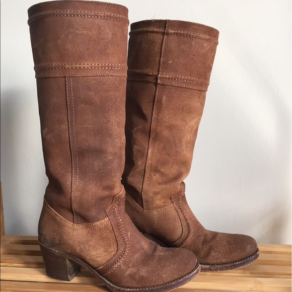 62 frye shoes frye suede 14l boots from
