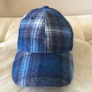 Pendleton Other - Gap+Pendleton wool blend plaid cap NWT