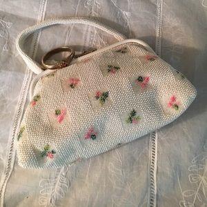 Vintage beaded handbag
