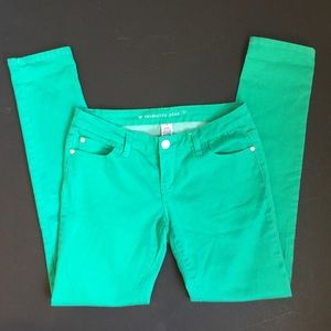 Celebrity Pink Denim - Celebrity Pink Jeans - Green - Size 7 Skinny
