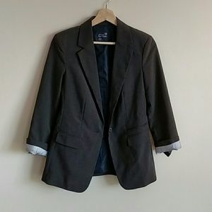American Eagle Outfitters gray blazer