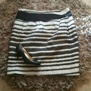 ANTONIO MELANI Dresses & Skirts - EUC! Antonio Melani Striped Skirt sz. 12