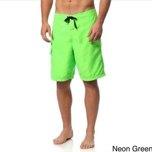 Triangle Other - Triangle Mens Surfboard Shorts Neon Green Size M