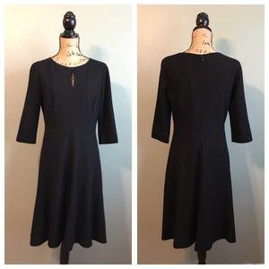 classiques entier Dresses & Skirts - Classiques Entier size 8 black 3/4 sleeve dress!