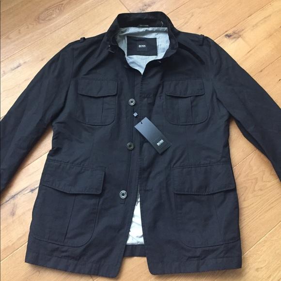 Hugo Boss Jackets & Coats   Boss Military Style Cylberw ...