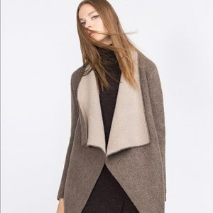 Zara Knit Double Sided Cardigan