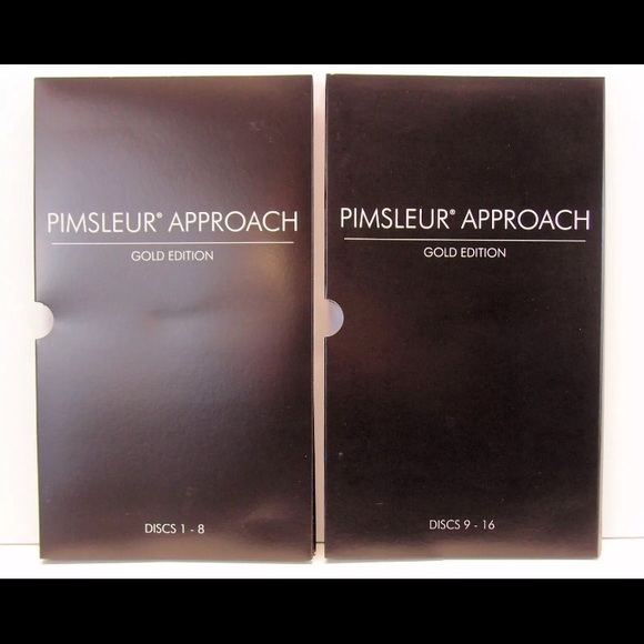 Pimsleur Approach Gold FRENCH I, Level 1, 16 CDs, 30 Lessons, Free Shipping !!!