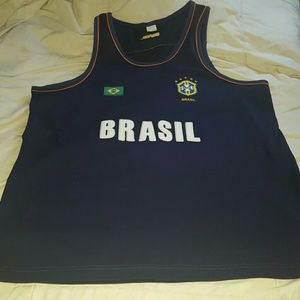 Other - Brasil jersey navy blue medium