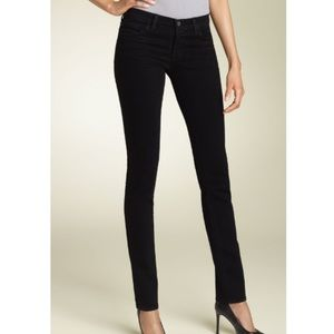 J Brand Denim - J BRAND Skinny Cigarette Jeans in Jett Wash