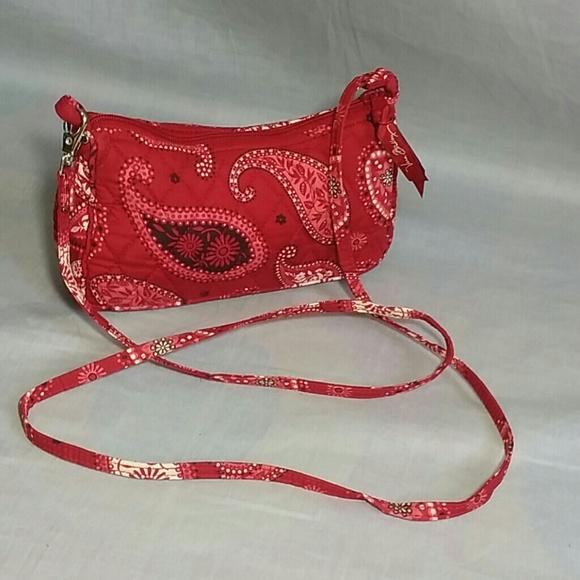 Vera Bradley Bags   Sling Bag Purse Small Canvas   Poshmark eaa05ce214