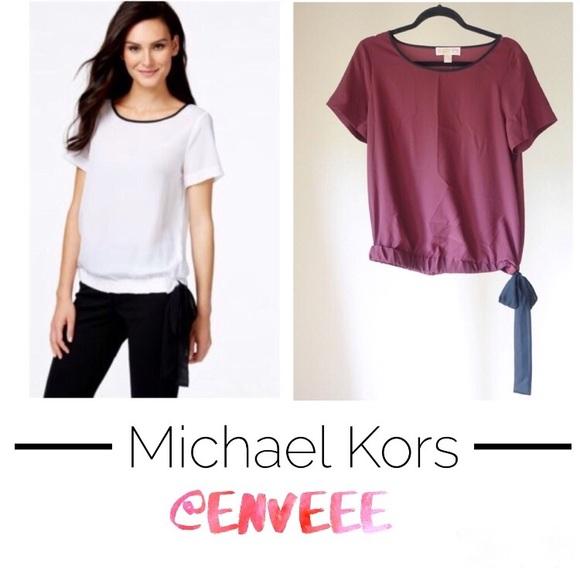 Michael Kors Tops - ❗️SALE❗️NWOT Michael Kors silky top/blouse