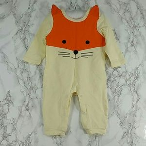Other - Pale Yellow and Orange Bodysuit. Kids