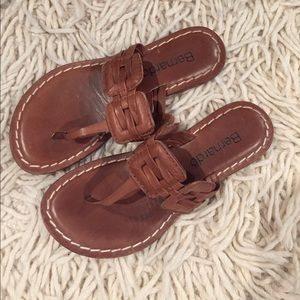 Bernardo Shoes - Bernardo Leather flip flops