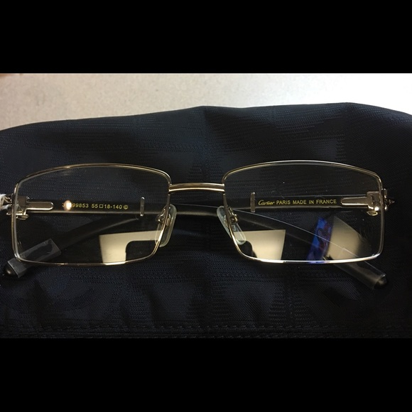 e349b2cdd79d CARTIER Accessories - Authentic CARTIER CLEAR UNISEX GLASSES