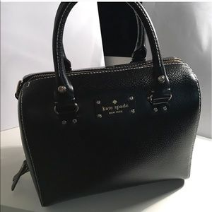 Kate Spade Wellesley Alessa Black Satchel