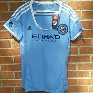 Adidas NYC FC Wms soccer jersey