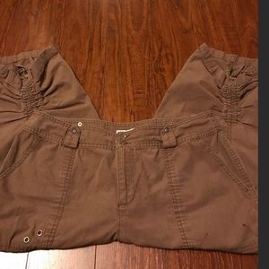 Dress Barn Pants - DRESS BARN Cinched Leg Capris