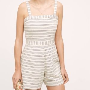 Paper Crown Other - Paper Crown Striped Romper
