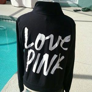 PINK Victoria's Secret Tops - Victoria's Secret Pink Quarter Zip