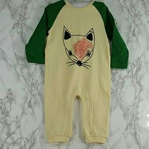 Other - Pale Yellow FOXY Bodysuit. Kids