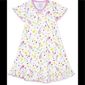 Sara's Prints Other - Sara's Prints Girls' Short Sleeve Nightgown