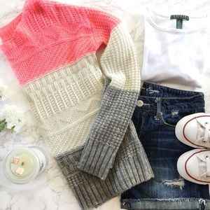 Willow & Clay Knit Crew Sweater