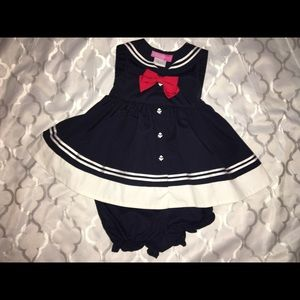 Other - Baby girl sailor dress⚓️