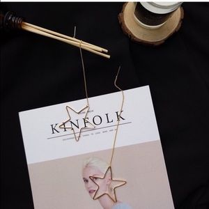 Jewelry - Big star earring