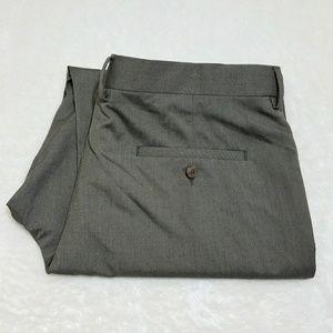 Haggar Other - Haggar Classic Fit Stretch Dress Gray Pants V19