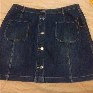 Eloquii Dresses & Skirts - Eloquii Size 20 DENIM SKIRT BRAND NEW WITH TAGS❤️