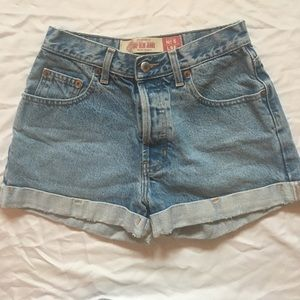 Urban Outfitters Pants - Vintage Cuffed Jean Shorts