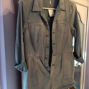Free People Other - Free People Denim Romper-tags on-never worn