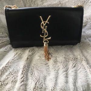 Yves Saint Laurent Handbags - ‼️SALE‼️✨Black and Gold Cross Body✨